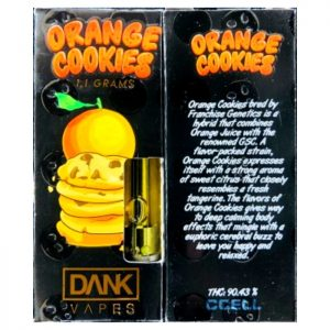 Orange Cookies Carts